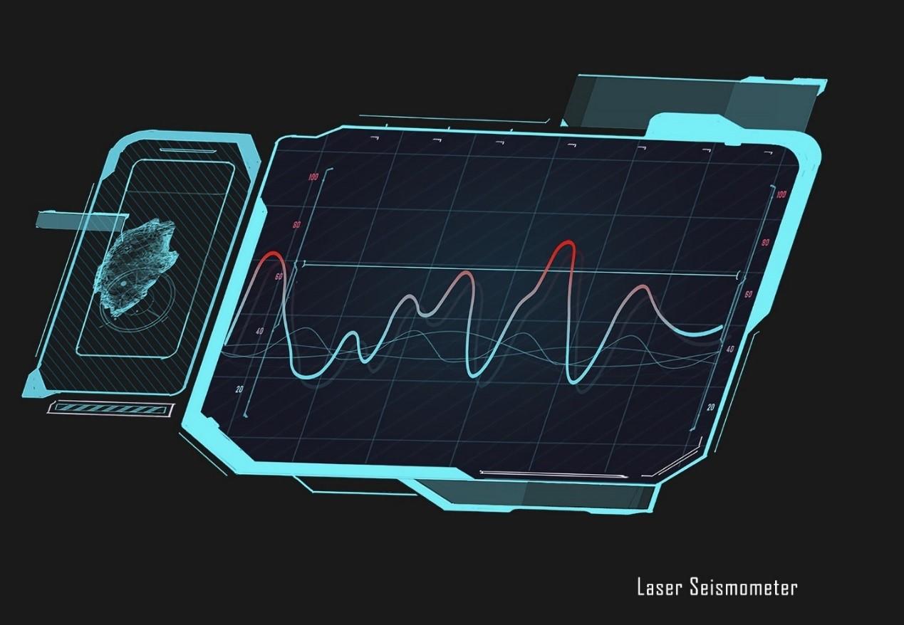 采矿界面:激光地震仪